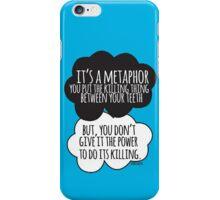 It's A Metaphor Cloud Design iPhone Case/Skin