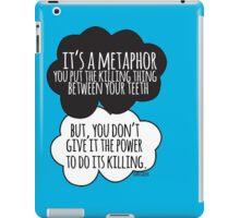 It's A Metaphor Cloud Design iPad Case/Skin