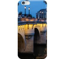 Pont Neuf Bridge - Paris, France iPhone Case/Skin
