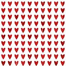 Red Hearts by David Dehner