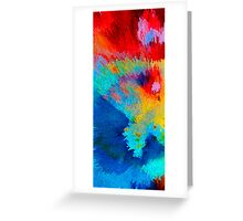 Primary Joy - Abstract Art by Sharon Cummings Greeting Card