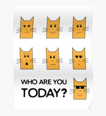 Who Are You today? Poster
