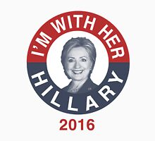 I'm With Her Hillary Clinton 2016 T-Shirt Unisex T-Shirt