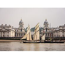 Greenwich Tall Ships Photographic Print