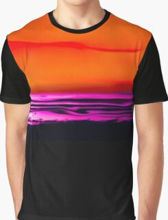 MISSION BAY SUNSET 104 Graphic T-Shirt