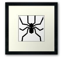 Foundation Spider Framed Print