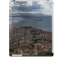 A Bird's-eye View of Naples, Italy iPad Case/Skin