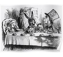 John Tenniel - The Mad Hatter, Illustration From  Alice S Adventures In Wonderland .  Poster
