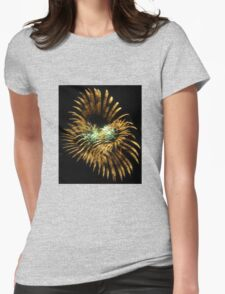 Abstract Light Womens Fitted T-Shirt