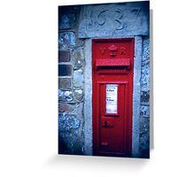 village post box Greeting Card