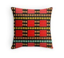 The Adventures Of Dot 'Lost In The City' Throw Pillow