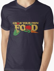Grow your own food urban farming Mens V-Neck T-Shirt