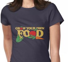 Grow your own food urban farming Womens Fitted T-Shirt