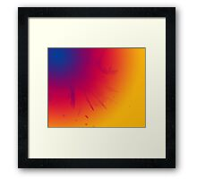 Colour Blend Framed Print