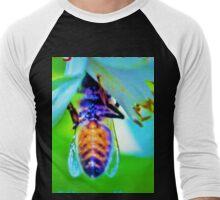 Bee-lated birthday greeting Men's Baseball ¾ T-Shirt