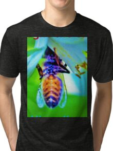Bee-lated birthday greeting Tri-blend T-Shirt