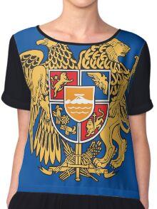 Armenia Coats of Arms Chiffon Top