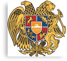 Armenia Coats of Arms Canvas Print