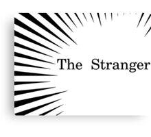 Albert Camus The Stranger Existentialism Canvas Print