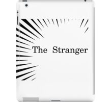 Albert Camus The Stranger Existentialism iPad Case/Skin