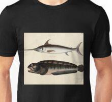 Naturgeschichte in Bildern mit erläuterndem Text E Strack 1820 Lief 4 Fish 021 Unisex T-Shirt