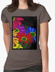 Flowers - Framed T-shirt Womens Fitted T-Shirt