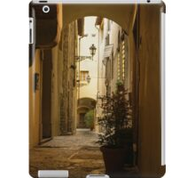 Wandering Around the Lanes and Alleys of Florence, Italy iPad Case/Skin