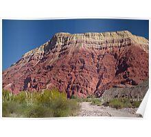 Red Rock - Salta Lanscape Poster