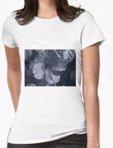 Tropical Night Womens Fitted T-Shirt