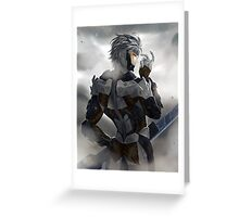 MGR Raiden Greeting Card