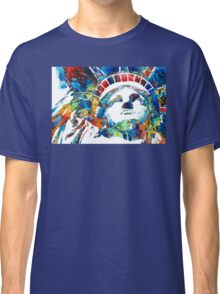 Colorful Statue Of Liberty - Sharon Cummings Classic T-Shirt