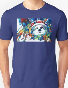 Colorful Statue Of Liberty - Sharon Cummings Unisex T-Shirt