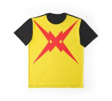 Crossed Flashes Graphic T-Shirt