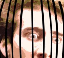 Nicolas Caged Sticker