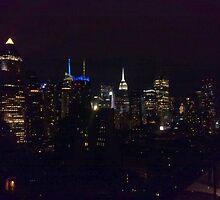 Midtown Manhattan 1 by Chris Moll