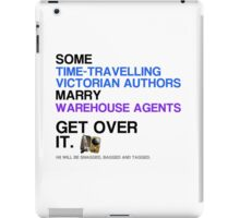 Some Victorians marry Warehouse agents Light Version. iPad Case/Skin