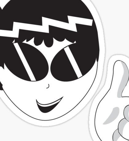 Pleased Ness Sticker