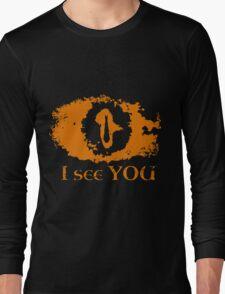 Eye of Sauron - I see you Long Sleeve T-Shirt