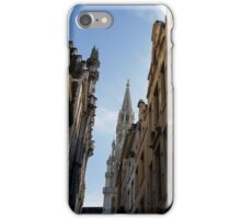 Catching a Glimpse of Grand Place, Brussels, Belgium  iPhone Case/Skin