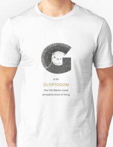 G is for Glyptodon Unisex T-Shirt