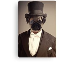 (Very) Distinguished Dog Canvas Print