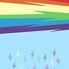 Rainbow Dash Rainbow Power (MLP:FiM) by pixel-pie-pro