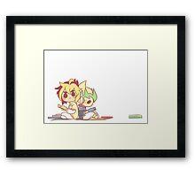 IvKai 1/3 Framed Print