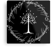 White Tree of Gondor (Ring) Metal Print