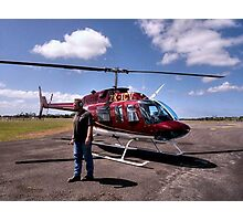 Your transport awaits Sir........!   Photographic Print