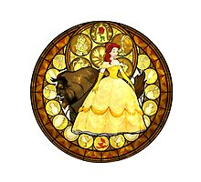 Belle Kingdom Hearts Beauty and the Beast by srtawalker