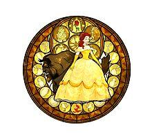 Belle Kingdom Hearts Beauty and the Beast by srtawalker