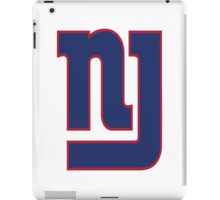 NJ GIANTS iPad Case/Skin