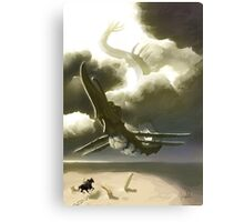 Lord of the Sky Canvas Print