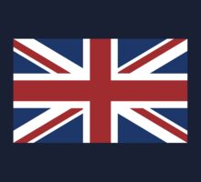 Union Jack (Red, White & Blue)  Kids Clothes